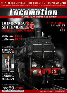 LOCOMOTION ... la bellezza corre sui binari